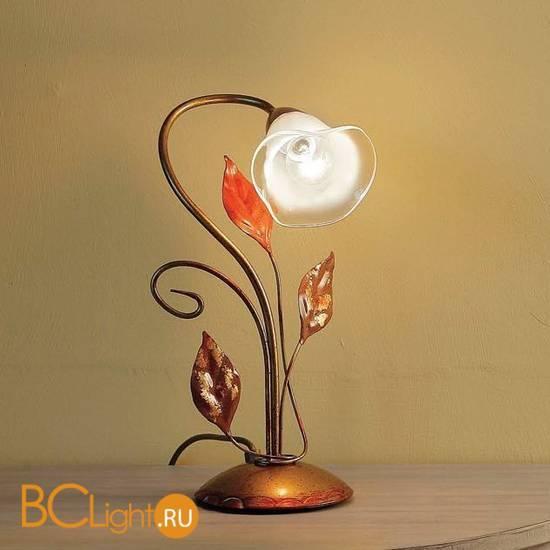 Настольная лампа Masca Florentia 1814/B1 Porpora / Glass 413