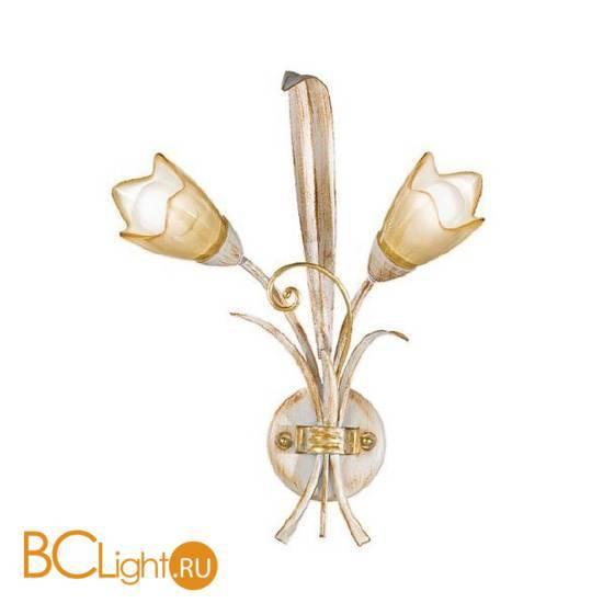 Бра Masca Fontana 1805/A2 Faggio / Glass 391