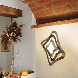 Настенный светильник Masca Gioiello 1844/A2 Ral nero / Glass 548