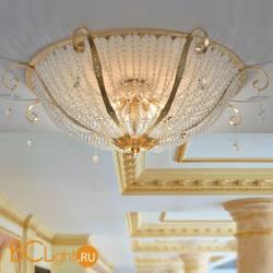 Потолочный светильник Masca Gotica 1846/12PL Oro frise