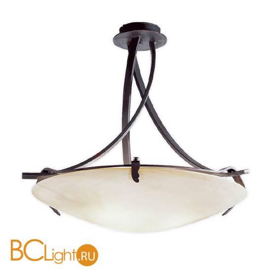Потолочный светильник Masca Intreccio 1660/3PL Peltro / Glass 285