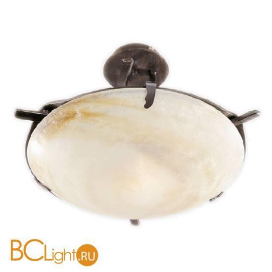 Потолочный светильник Masca Intreccio 1660/1PL Peltro / Glass 282