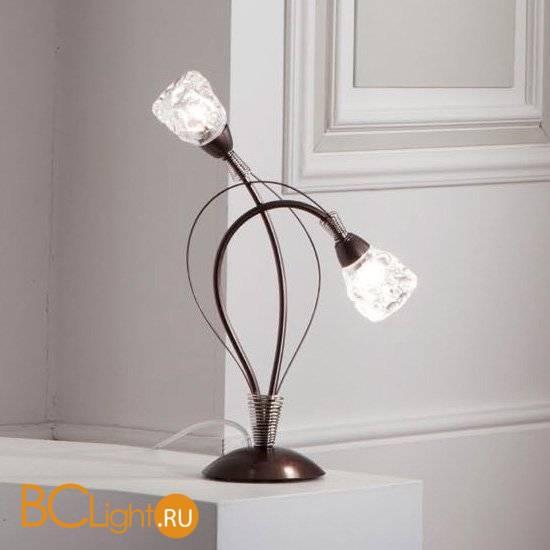 Настольная лампа Masca Luna 1865/B2 Moka nichel / Glass 576