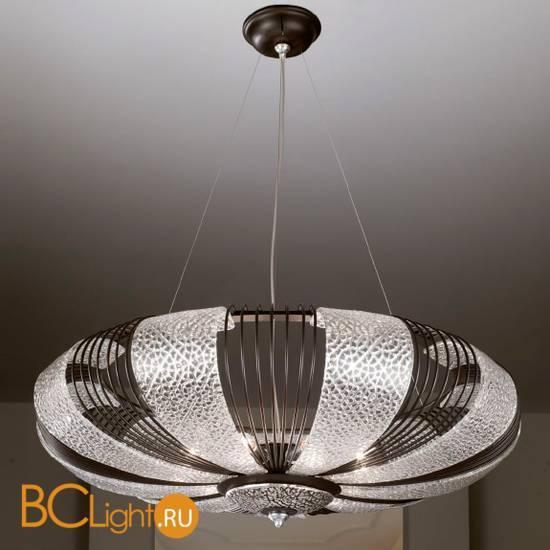 Подвесной светильник Masca Marrakech 1871/9S Corten argento/Glass 593