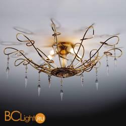 Потолочный светильник Masca Mozart 1874/5PL Oro cannella