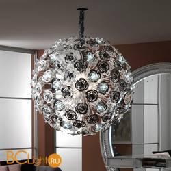 Подвесной светильник Masca Vie en Rose 1839/SFG Nero nichel / Glass 525