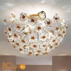 Потолочный светильник Masca Vie en Rose 1839/MSFG Bianco oro / Glass 525
