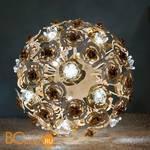 Настольная лампа Masca Vie en Rose 1839/SFB Bianco oro / Glass 525