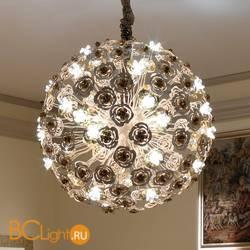 Подвесной светильник Masca Vie en Rose 1839/SFG Bianco oro / Glass 525