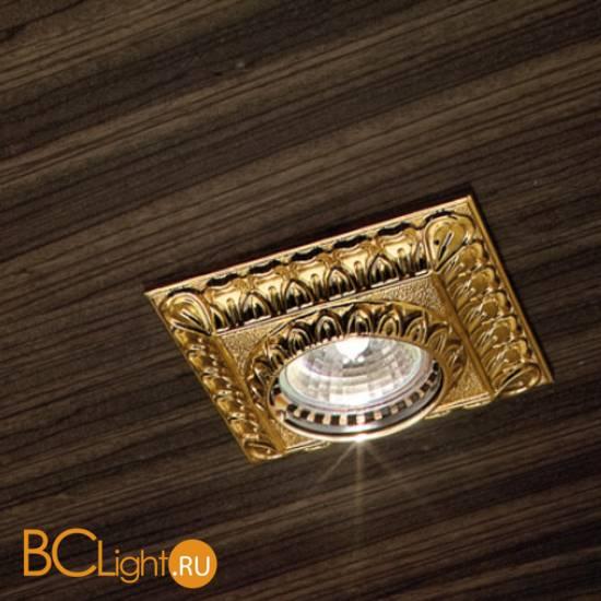 Встраиваемый спот (точечный светильник) Masiero Brass & spots VE 853