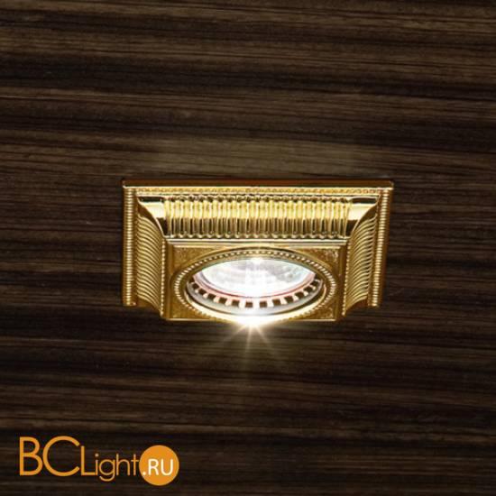 Встраиваемый спот (точечный светильник) Masiero Brass & spots VE 855