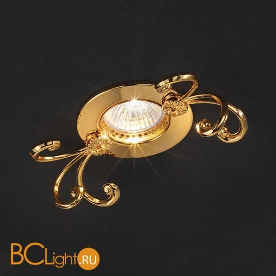 Встраиваемый спот (точечный светильник) Masiero Brass & spots VE 1105
