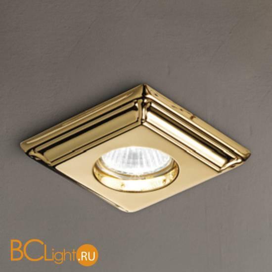 Встраиваемый спот (точечный светильник) Masiero Brass & spots VE 859