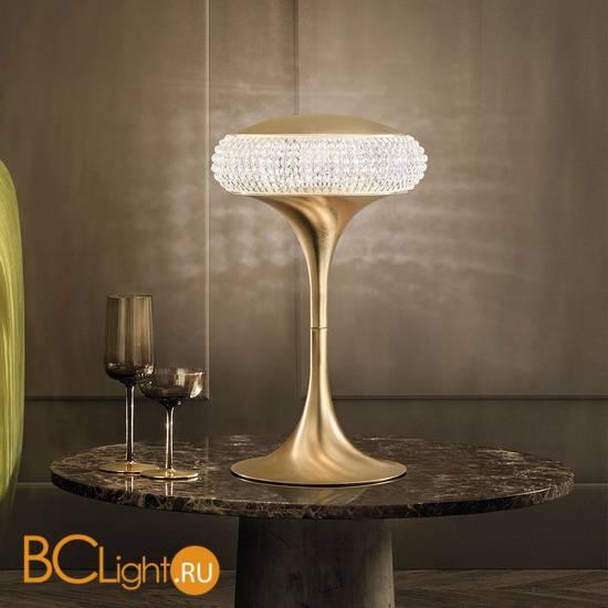 Настольная лампа Masiero Cristalis TL1 G G18 SW