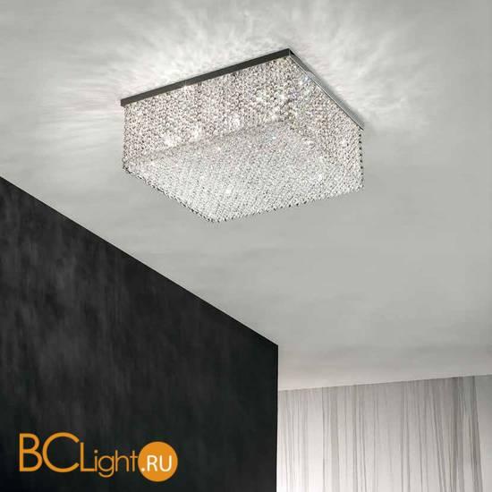 Потолочный светильник Masiero Cubo PL/SQUARE/LARGE 20 G04 TR CUT CRYSTAL