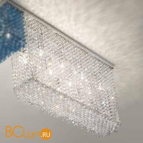 Потолочный светильник Masiero Cubo PL/LONG/A G04 TR CUT CRYSTAL