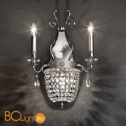 Бра Masiero Elegantia A2+1 G04-G06 Cut crystal