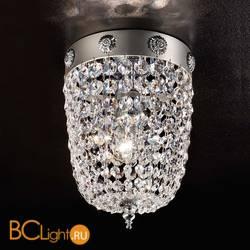 Потолочный светильник Masiero Elegantia PL1 G04-G06 Cut crystal