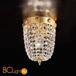 Потолочный светильник Masiero Elegantia PL1 G03-G05 Half cut glass