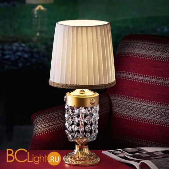 Настольная лампа Masiero Elegantia TL1P G03-G05 / PON/20/IV Swarovski elements