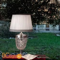 Настольная лампа Masiero Elegantia TL2G G04-G06 / PON/40/WH Half cut glass