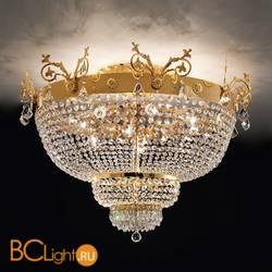 Потолочный светильник Masiero Impero & Deco VE 849 PL12 CUT CRYSTAL