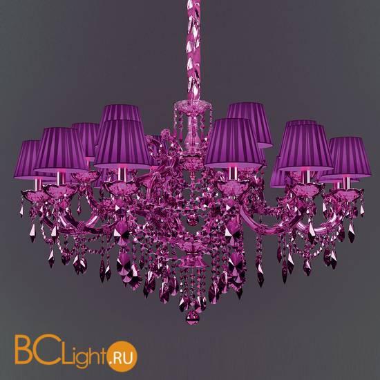 Люстра Masiero Maria Teresa VE 950/18 CG purple