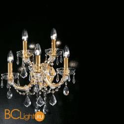 Бра Masiero Ottocento VE 942 A5 MT Cut crystal