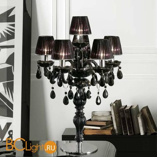 Настольная лампа Masiero Milord TL5+1 VV Black / ORG/12/BK