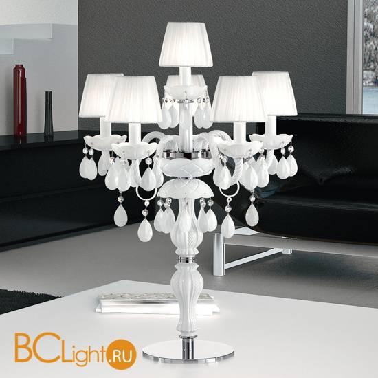 Настольная лампа Masiero Milord TL5+1 VV White / ORG/12/WH