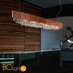 Подвесной светильник Masiero Ola S6 OV 160 Bronzo opaco