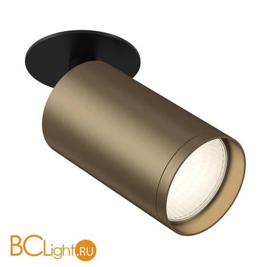 Встраиваемый светильник Maytoni Foscus S C049CL-1BBZ