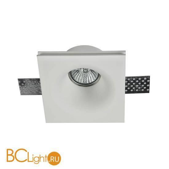 Встраиваемый спот (точечный светильник) Maytoni Gyps DL001-1-01-W