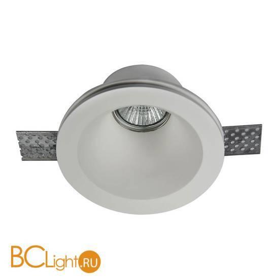 Встраиваемый спот (точечный светильник) Maytoni Gyps DL002-1-01-W
