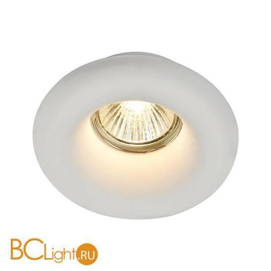 Встраиваемый спот (точечный светильник) Maytoni Gyps DL006-1-01-W
