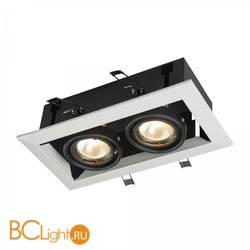 Встраиваемый спот (точечный светильник) Maytoni Metal DL008-2-02-W