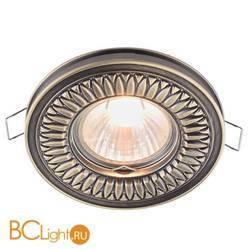Встраиваемый спот (точечный светильник) Maytoni Metal DL301-2-01-BS