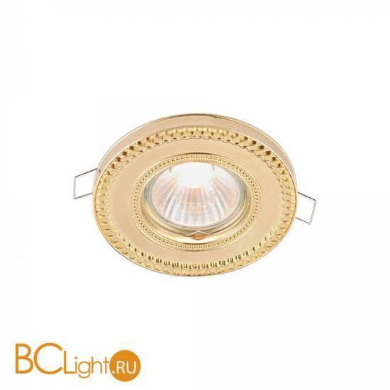 Встраиваемый спот (точечный светильник) Maytoni Metal DL302-2-01-G
