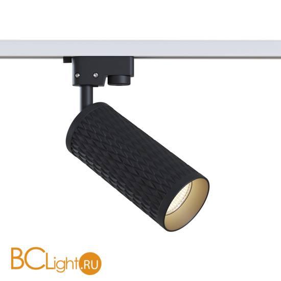 Трековый светильник для однофазного шинопровода Maytoni Track TR011-1-GU10-B