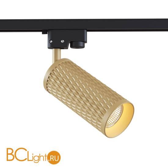Трековый светильник для однофазного шинопровода Maytoni Track TR011-1-GU10-G