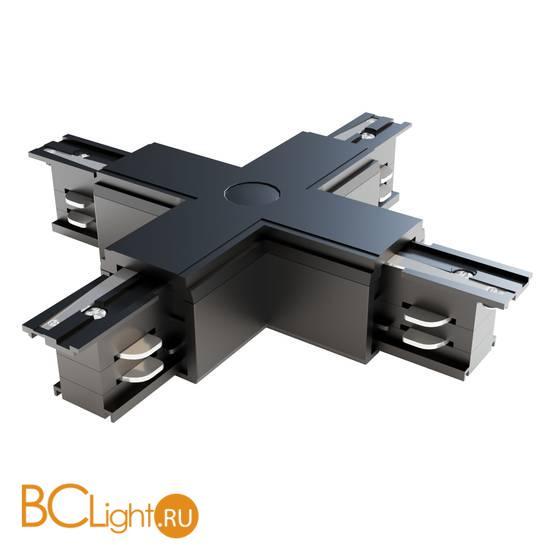 X-образный коннектор для 3-фазного шинопровода Maytoni Track TRA005CX-31B