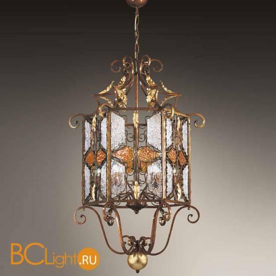 Подвесной светильник MM Lampadari Deco 6740/9 V2314 amber