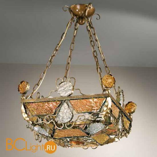 Подвесной светильник MM Lampadari Deco 6741/4 V2314 amber