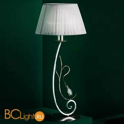 Настольная лампа MM Lampadari Pavone 6920/L1 V2556 With White Organza