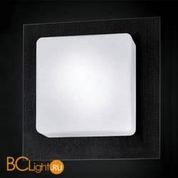 Настенно-потолочный светильник Murano Due Quadra 35 P PL Cristallo