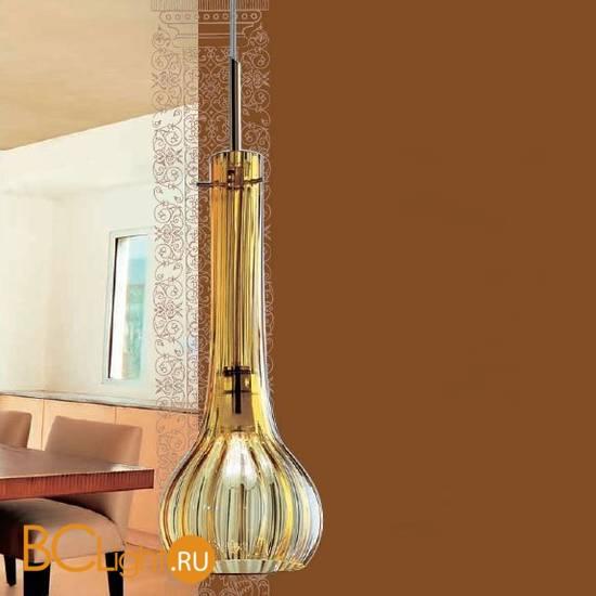 Подвесной светильник MURANOdue Gallery Athena S1 Oro/Amb 0000433