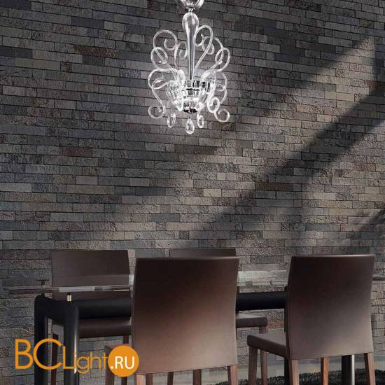 Потолочный светильник MURANOdue Gallery Bolero S 50 CROMO CRIST 0004443