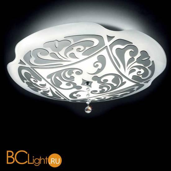 Настенно-потолочный светильник MURANOdue Gallery Charme P-PL 35 ALOGENA PLATINO 0000450