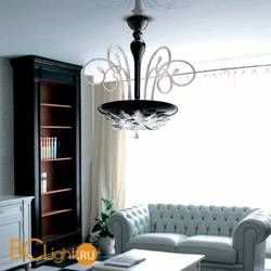Потолочный светильник MURANOdue Gallery Orleans S50 Nero Cristallo 0000443