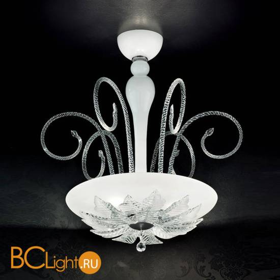Потолочный светильник MURANOdue Gallery Orleans S50 Bianco Cristallo 0000441